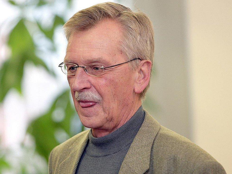 Nový starosta Jiří Helán.