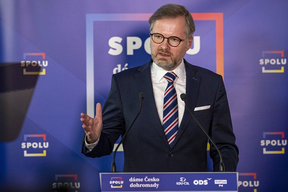 Občanský demokrat Petr Fiala.