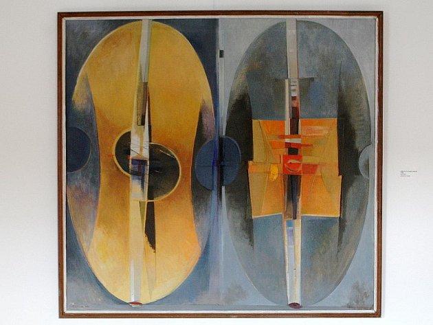 Bohdan Lacina přispěl k imaginativní tendenci novodobého malířství.
