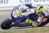 Fenomenální italský závodník Valentino Rossi.