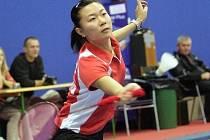 Číňanku Wangovou (na snímku) vystřídala Indonésanka Febby Angguniová. Té se premiéra v dresu Jehnic povedla.