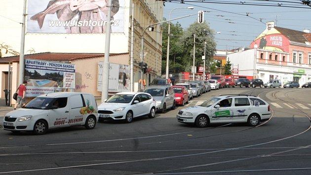 Úsek mezi Vranovskou, Jugoslávskou a Merhautovou ulicí. Ilustrační foto.