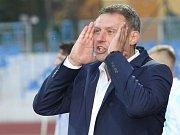Bývalý trenér fotbalové Zbrojovky Brno Svatopluk Habanec. Padáka dostal po čtvrtém kole, kdy byl tým poslední.