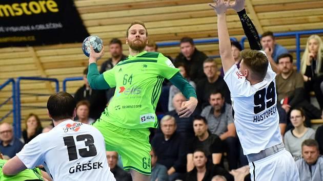 Domácí SHC Maloměřice Brno (zelená) proti Pepino SKP Frýdek-Místek (bílá)