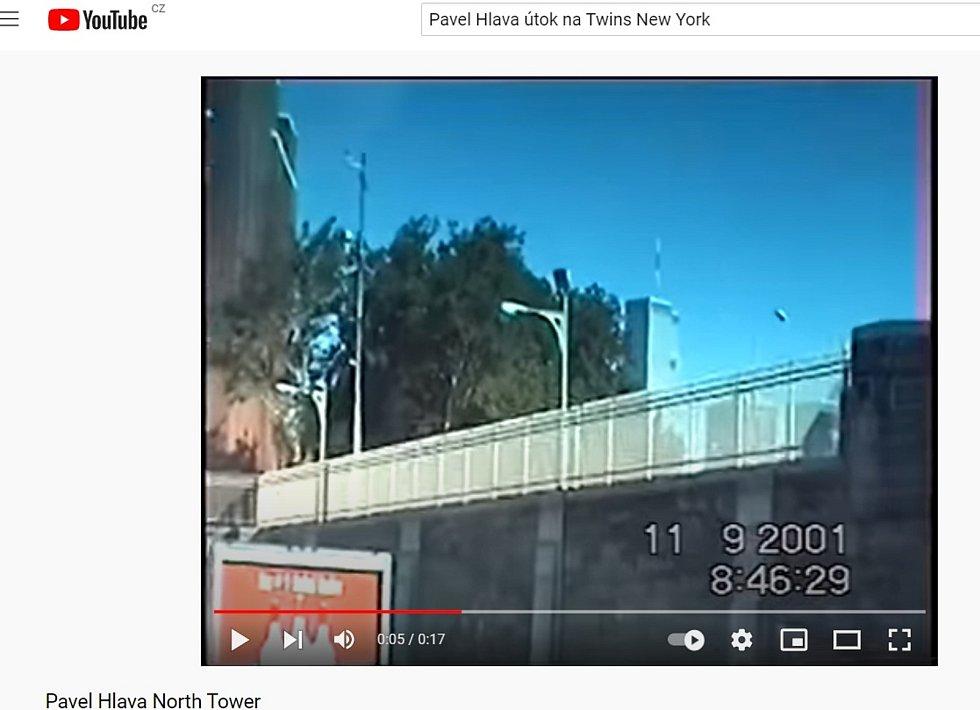 Letecký útok na věže Dvojčat zachytil jako jediný člověk na světě na svoji kameru Pavel Hlava z Brna.