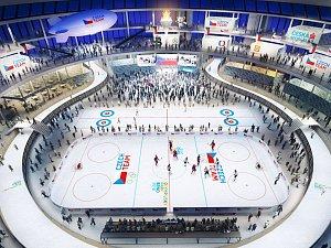 Vizualizace plánovaného olympijského parku v Brně.
