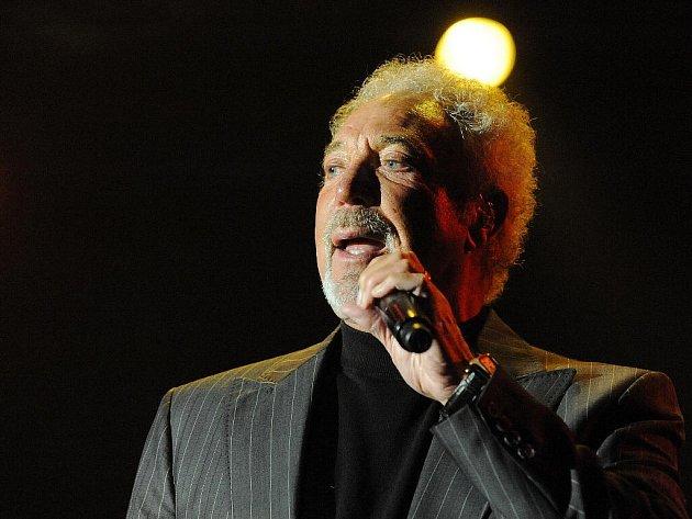 Legendární britský zpěvák a držitel ceny Grammy Tom Jones ve středu poprvé koncertoval v Brně.