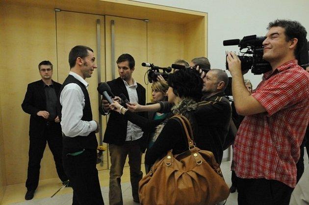 Radim Labuda - vítěz Ceny Jindřicha Chalupeckého 2008