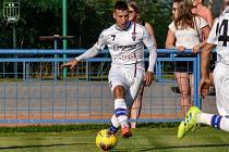 Fotbalista David Krška se po roce ve Zbrojovce vrátil do Líšně a převzal kapitánskou pásku po Janu Hlavicovi.