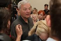 Wayne Dahlgren. Otec obžalovaného Kevina Dahlgrena, který v úterý stanul před brněnským krajským soudem.
