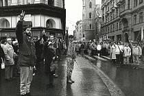 Listopad 1989 v Brně.