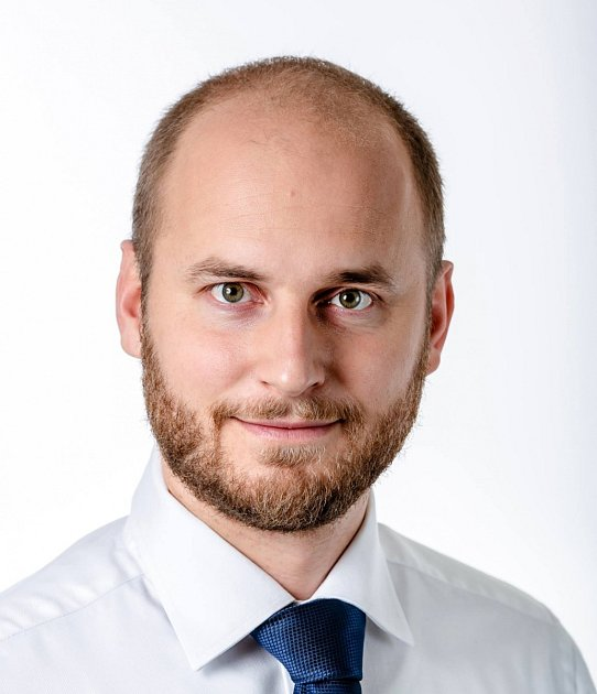 Ředitel Nadace DRFG David Macek.