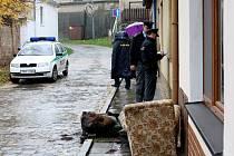 Žena z Židlochovic na Brněnsku zahynula při požáru rodinného domku.
