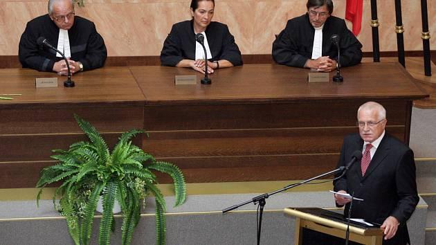 Ústavní soud v Brně slavil patnácté výročí.