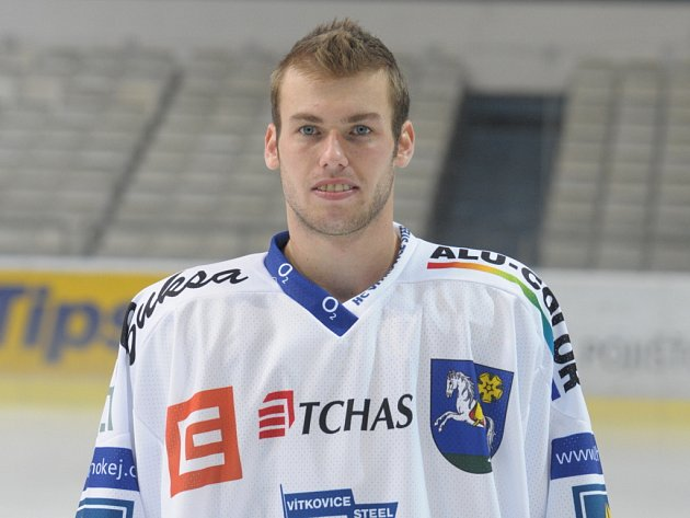 Vítkovický hokejista Vladimír Svačina.