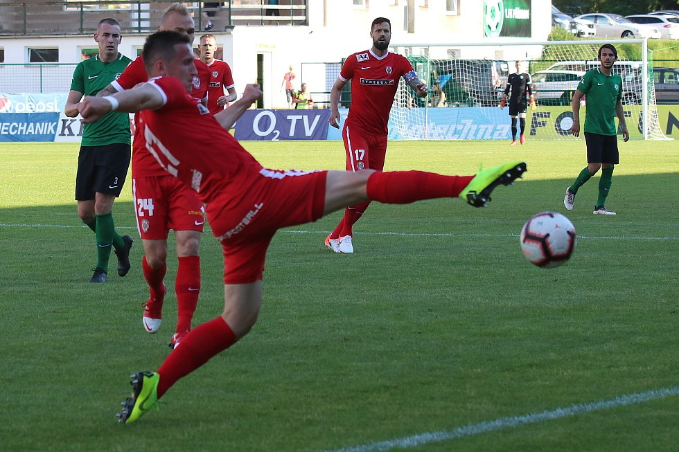 Baráž o FORTUNA:LIGU 1. FK Příbram - Zbrojovka Brno Foto: Antonín Vydra