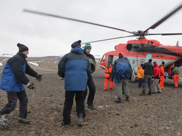 Vědci z Masarykovy univerzity prováděli výzkum na Antarktidě.