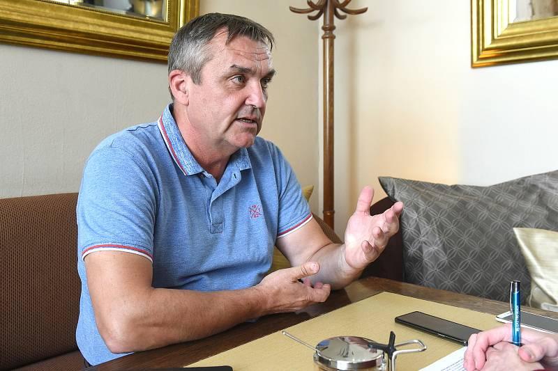 Bývalý brněnský primátor a člen hnutí ANO Petr Vokřál.
