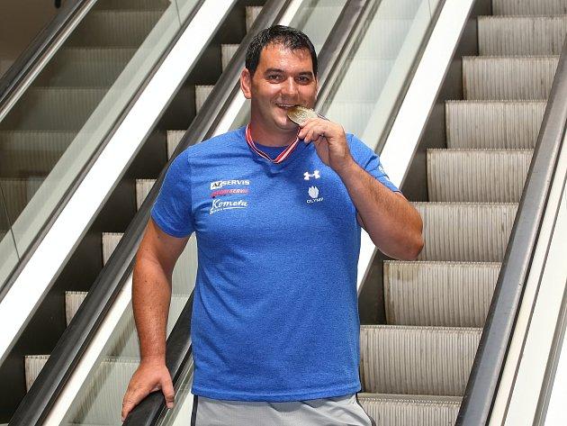 Jiří Lipták vystřílel bronz vtrapu na Mistrovství Evropy vRakousku.