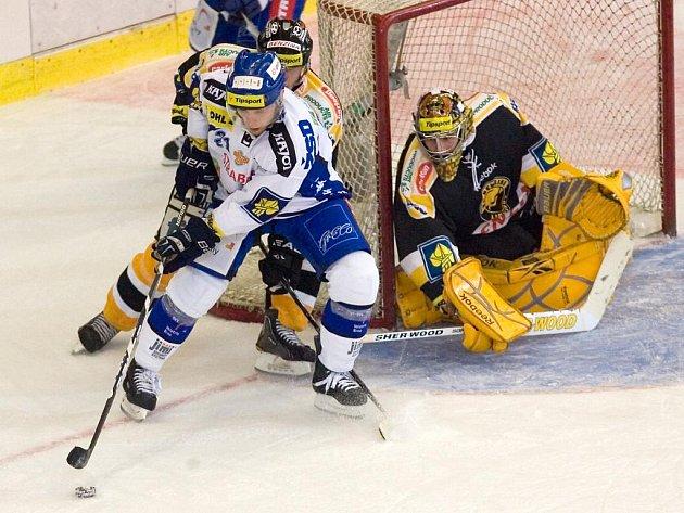 Hokejisté brněnské Komety porazili na domácím ledě Litvínov 3:1.