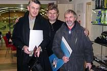 Křesťanský demokrat Jiří Navrátil (vpravo) pracoval jako místostarosta Slatiny poslední dva roky. Před tím byl osm let starostou a ještě před tím osm let radním.