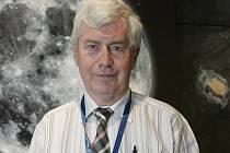 Astrofyzik Jiří Grygar.