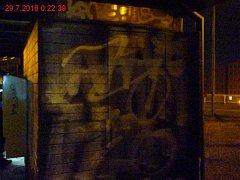 Graffiti na Osové