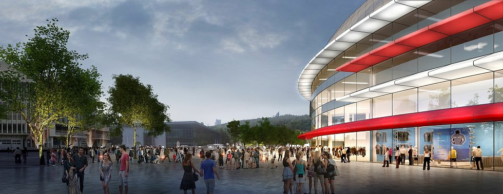 Výstavba nové multifunkční haly na brněnském výstavišti je o krok blíž. Město už má projekt a první dělníci se na staveništi mohou objevit příští rok.