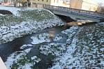 """V souvislosti s hladinami řek Povodí Moravy stále hlásí podprůměrný stav. """"Průtok v Hané ve Vyškově odpovídá přibližně sedmačtyřiceti procentům obvyklého průtoku v lednu,"""" uvedla mluvčí státního podniku Gabriela Tomíčková."""