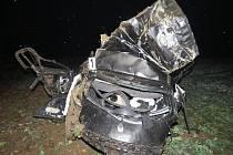 Tragicky skončila ve čtvrtek krátce před jedenáctou hodinou večer jízda šestadvacetiletého řidiče mezi Předklášteřím a Štěpánovicemi na Brněnsku.