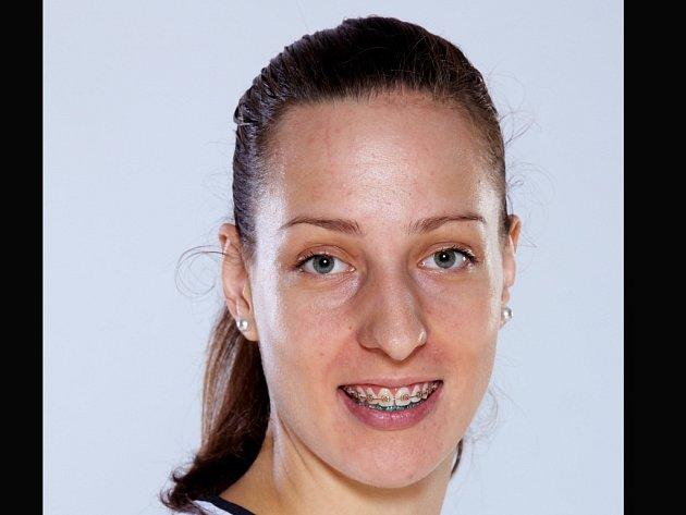 Basketbalistka Aneta Mainclová.
