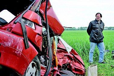 Tragická nehoda u Pohořelic.