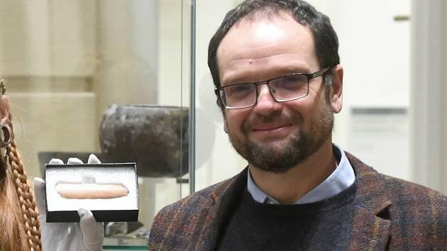 Profesor Jiří Macháček z Ústavu archeologie a muzeologie Masarykovy univerzity.