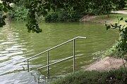 Brněnská přehrada v úterý 12. června 2018.