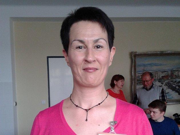 Dobrovolnice Andrea Svobodová