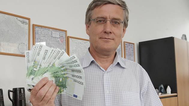 Bohunický starosta Antonín Crha.