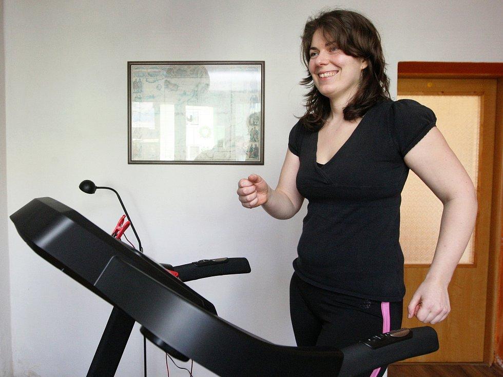 Jihomoravská reprezentantka celostátní soutěže Fit s Deníkem Adéla Procházková.