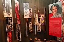 Výstava v Muzeu romské kultury v Brně.