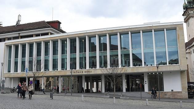 Tržnice na Zelném trhu v Brně. Ilustrační foto.