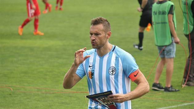 Karel Kroupa se rozloučil s kariérou symbolicky v utkání proti Zbrojovce Brno.