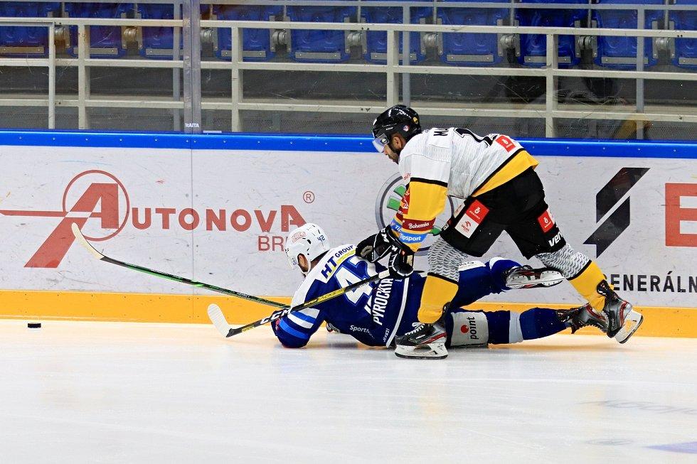 Hokejistům Komety nevyšel duel na ledě Litvínova.