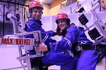 Studenti se zúčastnili simulované mise na Mars.