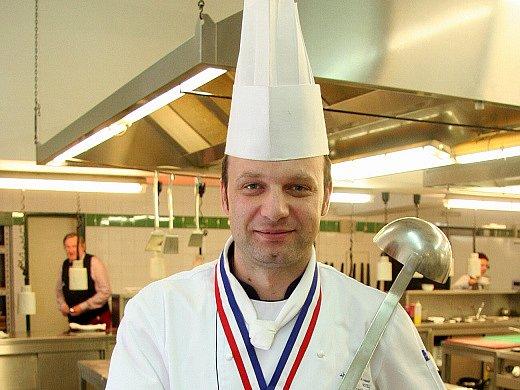 Šéfkuchař brněnského hotelu International Miroslav Husák