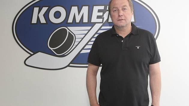 Hokejový zadák a trenér Lubomír Oslizlo v Kometě odehrál patnáct sezon.