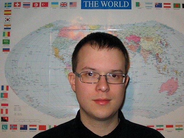 Bezpečnostní analytik z jižní Moravy Lukáš Visingr.