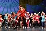 Brněnská taneční skupina Magic Free Group oslavila dvacet let svého působení na české taneční scéně velkolepou nedělní show v Janáčkově divadle. Moderátorem večera byl herec Ondřej Sokol.