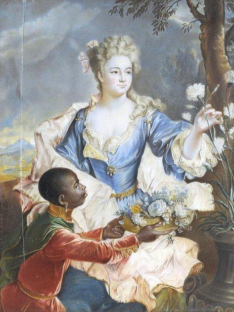 Podobizna Catherine-Marie de Gendre, madame Pécoil de La Villedieu od Hyacintha Rigauda, nejvýznamnějšího portrétisty krále Ludvíka XIV.
