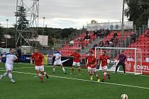 Česká reprezentace v malém fotbalu odstartovala oslavu postupu do semifinále mistrovství Evropy.