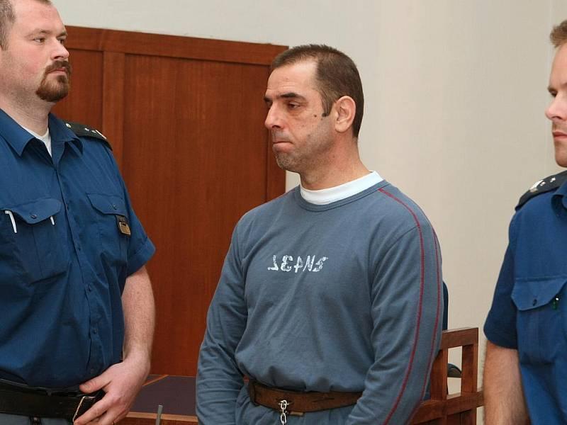 Ibrahim Hagjidauti u brněnského soudu.