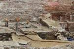 Archeologové našli při vykopávkách na Římském náměstí v centru Brna pozůstatky osídlení města z 12. století.